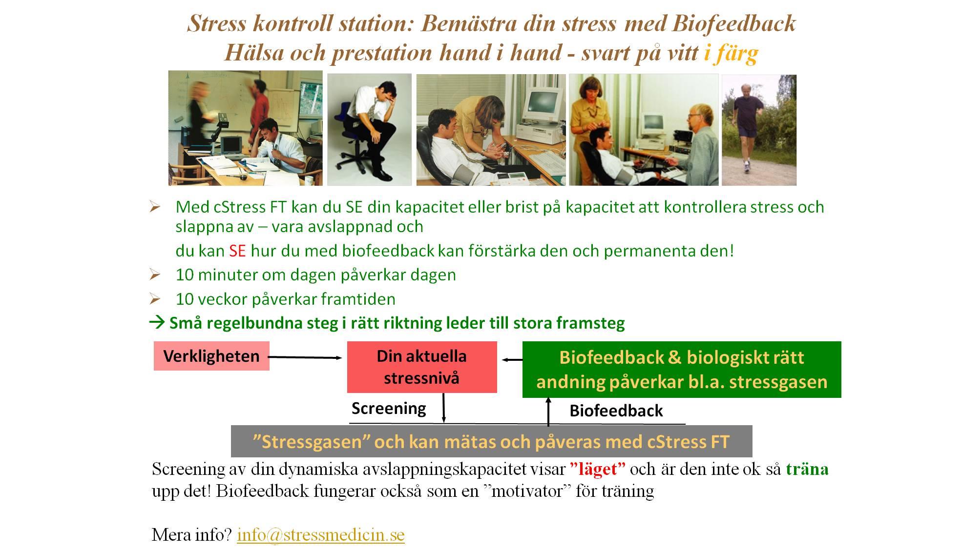 Biofeedback station